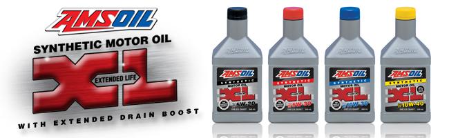 AMSOIL XL 10000 mile oil
