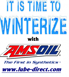 Winterize with AMSOIL