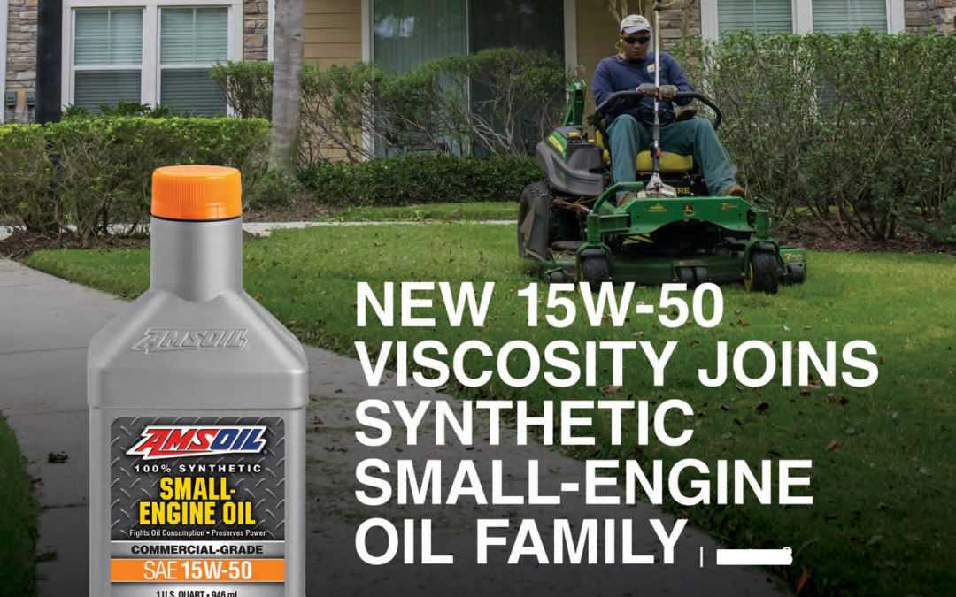 NEW 15W-50 VISCOSITY JOINS AMSOIL SYNTHETIC SMALL-ENGINE OIL FAMILY
